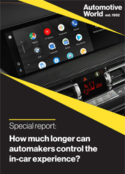 Special report: How much longer can automakers control the in-car experience?