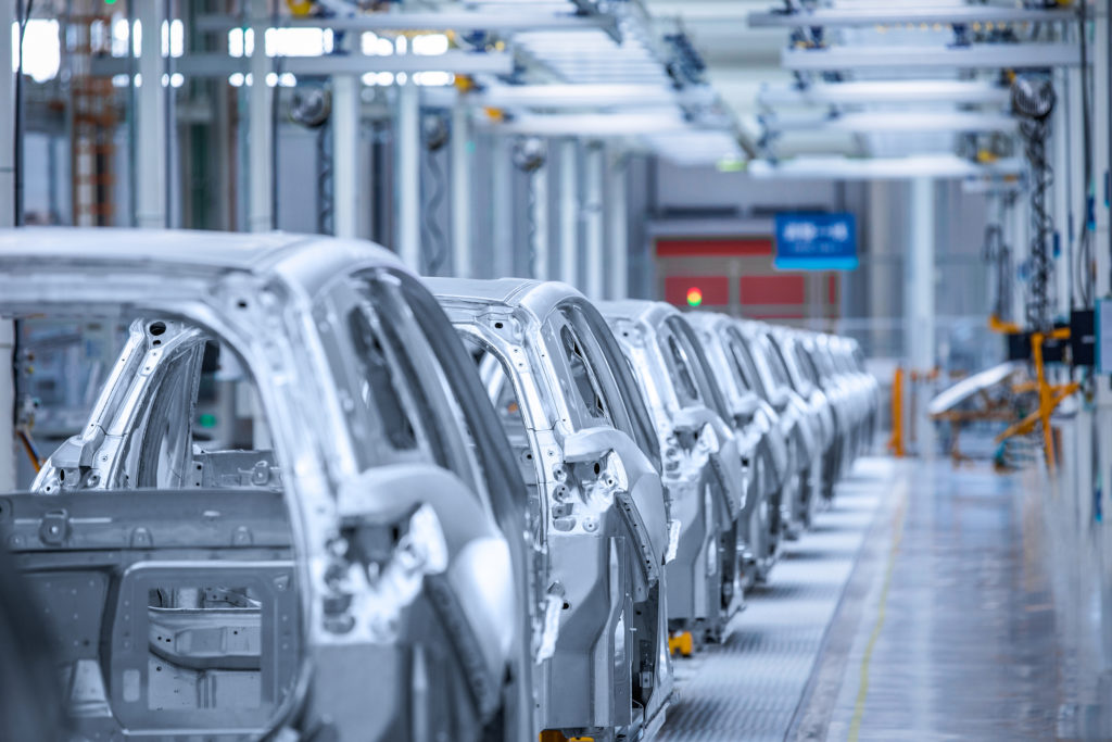 Nio production line