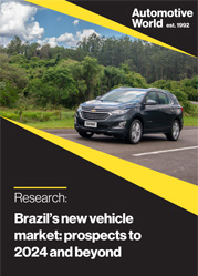 Brazil's new vehicle market: prospects to 2024 and beyond