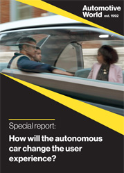 Special report: How will the autonomous car change the user experience?