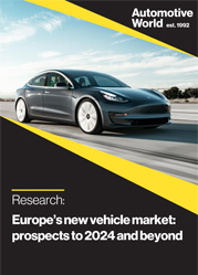 Europe's new vehicle market: prospects to 2024 and beyond