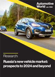 Russia's new vehicle market: prospects to 2024 and beyond